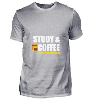 study coffee - I need more coffee