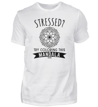 funny saying Mandala flower