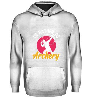 Archery Archer Bow And Arrow Hobby