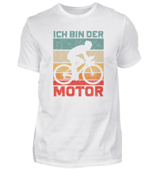 Fahrrad Spruch Anti E-Bike Rennrad