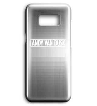 Samsung Hülle - Logo weiss
