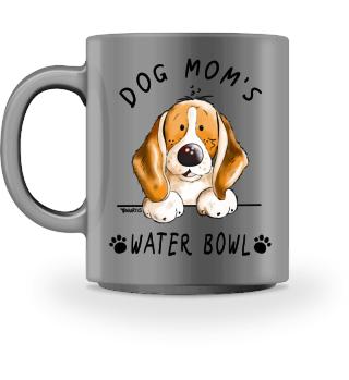 Beagle Dog Mom's Water Bowl I Mug