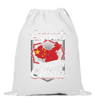 Legends Are Born In China Asien Geschenk