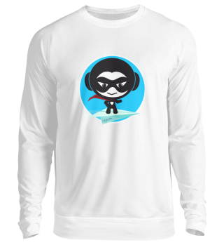 Be Hero with Heroletta UNISEX Sweatshirt