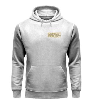 Unisex Premium Hoodie mit Logo gold