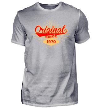 Original seit 1970 Orange