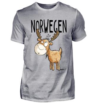 Norwegen Elch I Skandinavien Geschenk