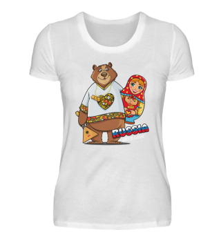 Russia with Love Premium Shirt