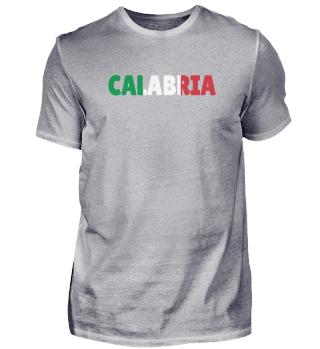 Calabria Italy flag holiday gift