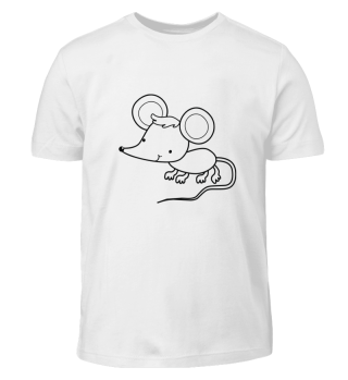 Ausmal Shirt -Maus-
