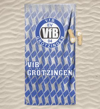 Triangel - Handtuch / Badetuch / Decken - V.f.B. Grötzingen
