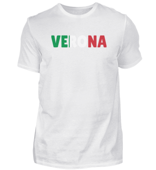 Verona Italy flag holiday gift