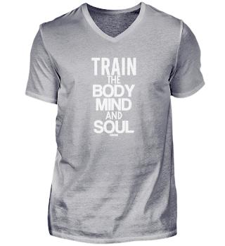 Yoga Workout saying body soul spirit