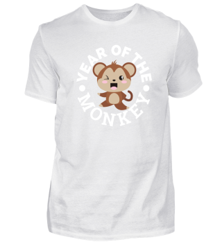 Chinese Zodiac Year of the Monkey Cute