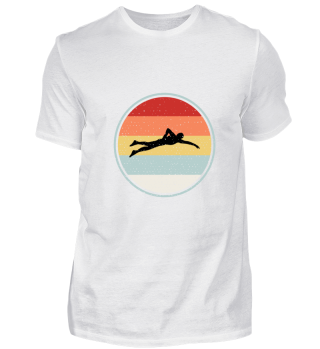 Swimming Tee Shirt For Dad
