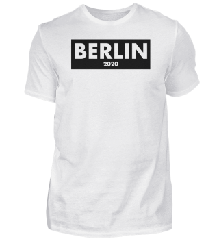Berlin 2020 clean design shirt - present