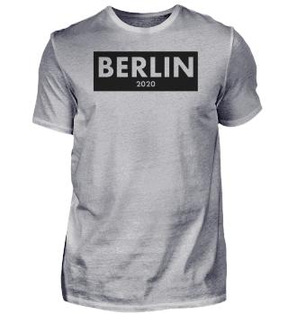 Berlin 2020 clean design shirt - present