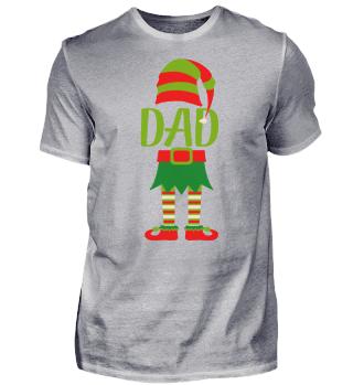 DAD CHRISTMAS T-SHIRT