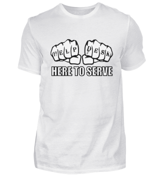 Help Desk Here To Serve T-Shirt