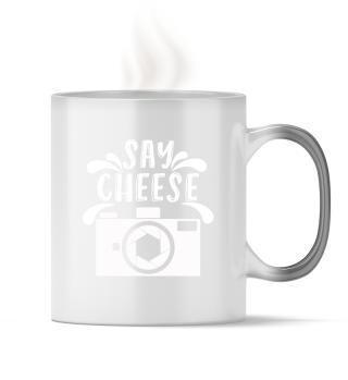 Valokuvaus sanoa juustoa!