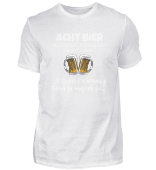 ACHT BIER - DECKEN DEN TAGESBEDARF ...