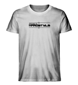 Herrn Premium Organic Shirt - Addicted
