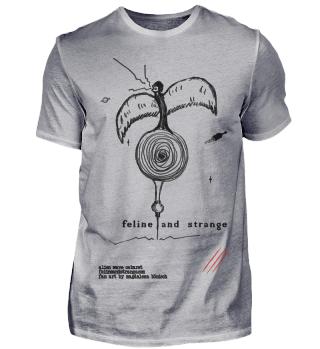 feline and strange FAN ART space harpy
