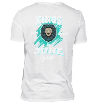 kings are born in june back