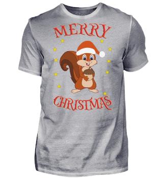Merry Christmas Santa Baby-Eichhörnchen