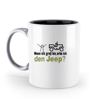 JCD Tasse JeepKids 2 mehrfarbig