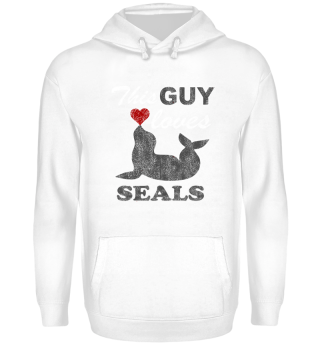 This guy loves seals - gift