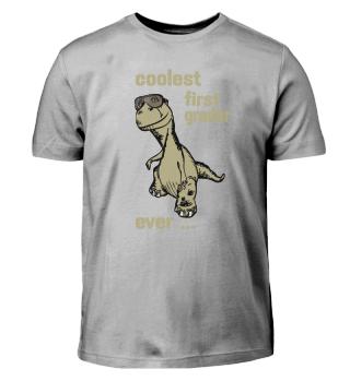 Schulkind T-Rex