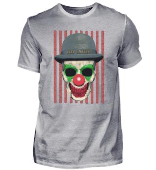 Horror Clown Skull