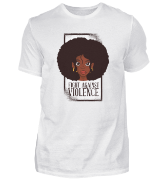 Black Woman Fight Against Violence