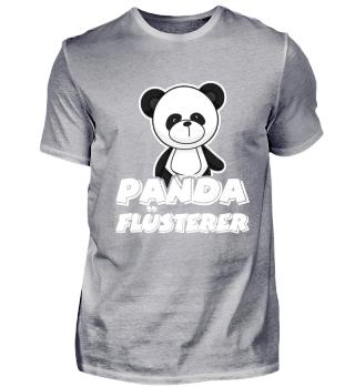 Panda-Flüsterer für Tier Fans