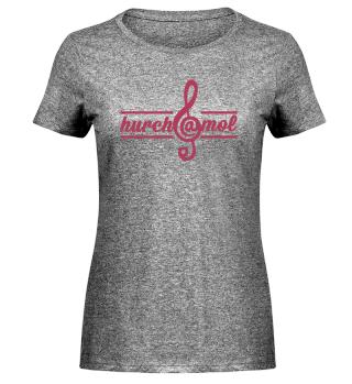 hurch@mol - Damen Melange Shirt