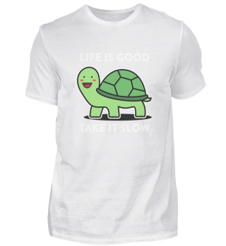 Life is good. Take it slow. Enjoy. Be happy.