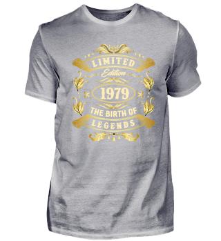 Limited Edition 1979 - 40. Geburtstag
