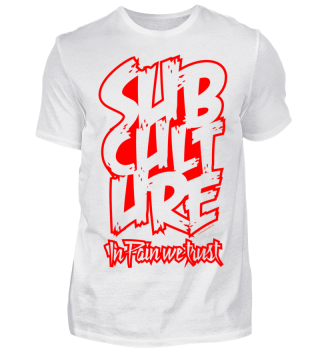 T-Shirt Subculture in pain we trust