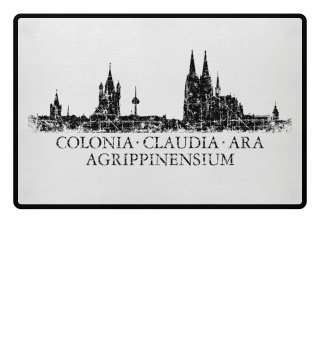CCAA Kölner Skyline -Fußmatte