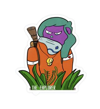 THE EXPLORER Sticker
