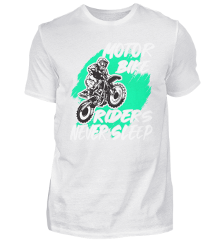 Motor bike riders never sleep
