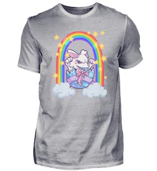 Easter Bunny Rainbow Gift Eggshell