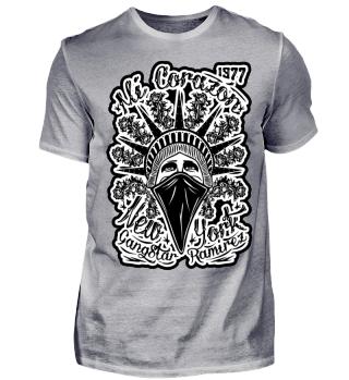 Herren Kurzarm T-Shirt Mi Corazon BW Ramirez