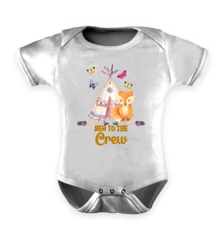 New To The Crew Geschenk Geburt