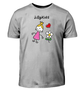 LillyKids - Prinzessin mit Herz, Blume