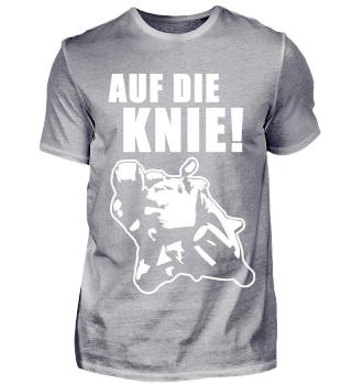 Auf die Knie ! - Motorradfahrer/in