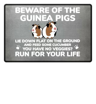 Funny Guinea Pig Door Mat