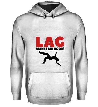 Gift Idea For Gamer Lag makes me Noob