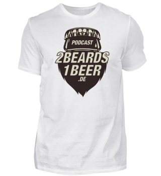 2 Beards - Basic-Fanshirt - beidseitig